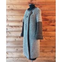 Kimono Coat 4 plies Terra Roccia