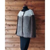 Kimono Jacket 2 plies Terra Roccia Ghiaccio