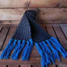 Bi Scarf  Terra Indaco Ground Indigo