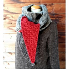 2 Pointed Scarf