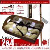 "Gift Basket ""2&4 Plies"" - Sole Ghiaccio -"