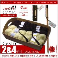 "Gift Basket ""2&4 Plies"" - Sole Terra -"