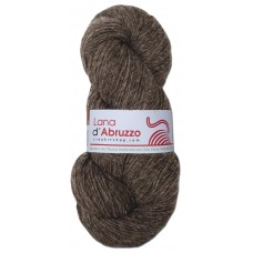Lana d'Abruzzo 1 Ply natural Dove Gray color - Roccia - L017