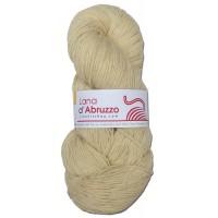 Lana d'Abruzzo 1 Ply natural Ecru color - Sole - L017