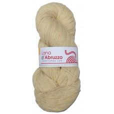Lana d'Abruzzo 1 Ply natural Ecru color - Sole - L017