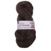 Lana d'Abruzzo 1 Ply natural Brown color - Terra - L017