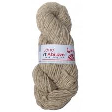 Lana d'Abruzzo 2 Plies natural Gray color - Ghiaccio - L017