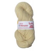 Lana d'Abruzzo 2 Plies natural Ecru color - Sole - L017