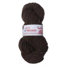 Lana d'Abruzzo 2 Plies natural Brown color - Terra - L017