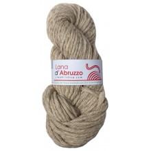 Lana d'Abruzzo 4 capi color grigio naturale - Ghiaccio - L017