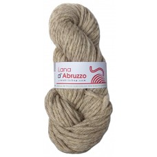 Lana d'Abruzzo 4 Plies natural Gray color - Ghiaccio - L017