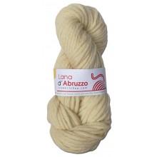 Lana d'Abruzzo 4 capi color ecru naturale - Sole - L017
