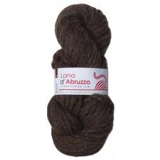 Lana d'Abruzzo 4 Plies natural Brown color - Terra - L017