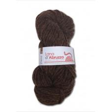 Lana d'Abruzzo 4 capi color marrone naturale - Terra - L018