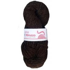 Lana d'Abruzzo 1 capo color marrone naturale - Terra - L019