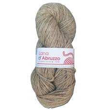 Lana d'Abruzzo 2 capi color grigio naturale - Ghiaccio- L019