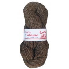 Lana d'Abruzzo 2 capi color grigio tortora naturale - Roccia- L019