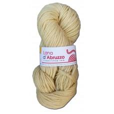 Lana d'Abruzzo 2 capi color ecru naturale - Sole- L019