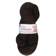 Lana d'Abruzzo 2 capi color marrone naturale - Terra - L019