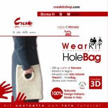Hole Bag M - kit crochet