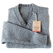 Pullover Collo a V Light - Roccia